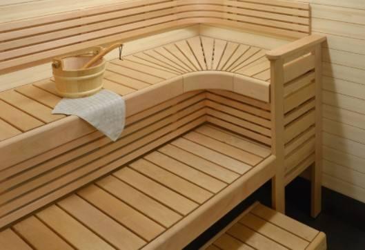 мытье полок в бане