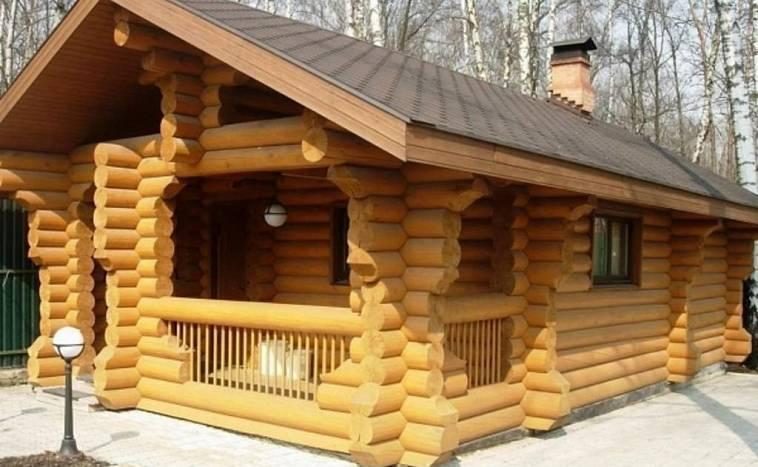 Из чего строить баню