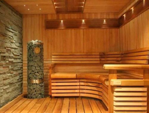 Как избавиться от смолы в бане