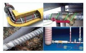 Способы утепления водопровода