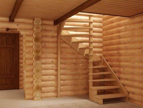 лестница для бани